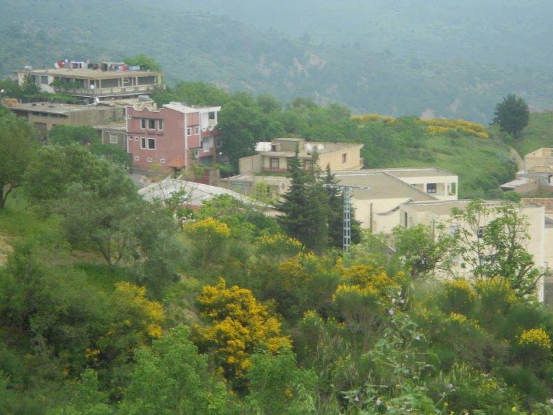La beauté du village avec son paysage