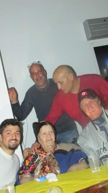 Kaci Boussad avec ses fans !