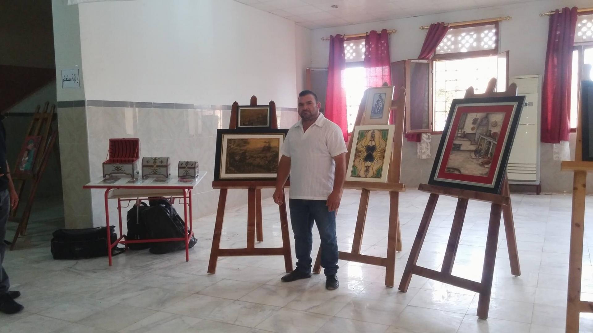 Redouane Bouzidi exposition