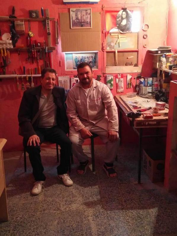 Redoune avec Karim Tifra de AESA